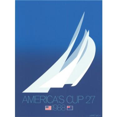 "1988 AMERICA""S CUP BLUE"