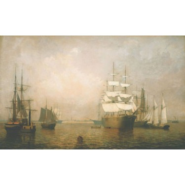 SHIPS LEAVING BOSTON HARBOR