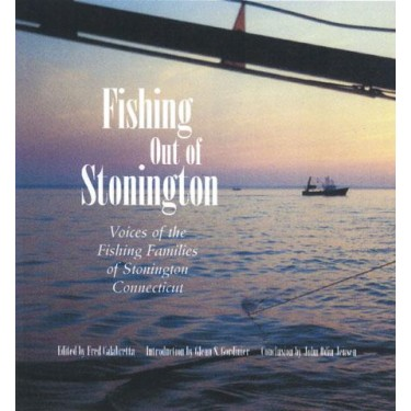 FISHING OUT OF STONINGTON  by Fred Calabretta