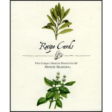 Herbs Recipe Cards