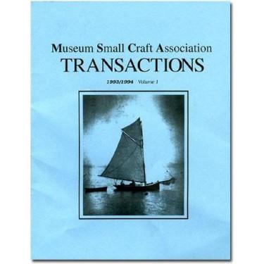 MUSEUM SMALL CRAFT ASSOCIATION Vol. I
