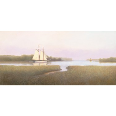 1040597 ON THE MARSH TIDE s/n Giclee on Canvas