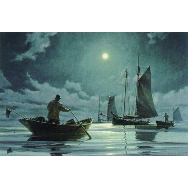 1007406 NIGHT WATCH s/n Lithograph