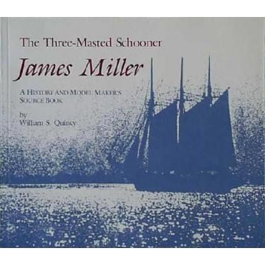 THREE MASTED SCHOONER JAMES MILLER by W. Quincy