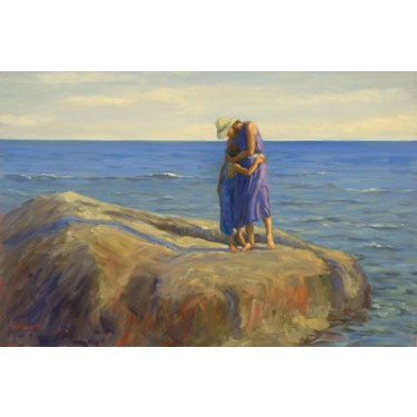 1039674 FILLED WITH THE SOUND s/n Giclee on Canvas