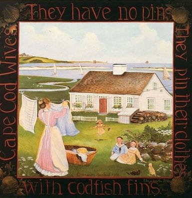 1007419 CAPE COD WIVES Lithograph s/n