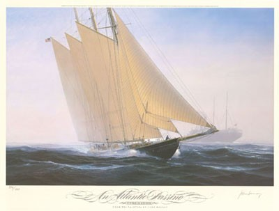 Atlantic Passing s/n Litho