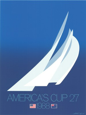 "1988 AMERICA""S CUP BLUE"
