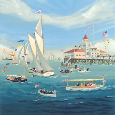 1007671 Ocean Club/Courageous Captains s/n Serigraph