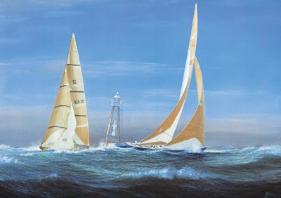 1007739 THE TWELVE METERS, 1987 Open Edition Lithograph