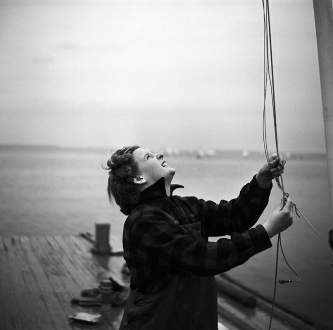 Working the Rigging, 1954