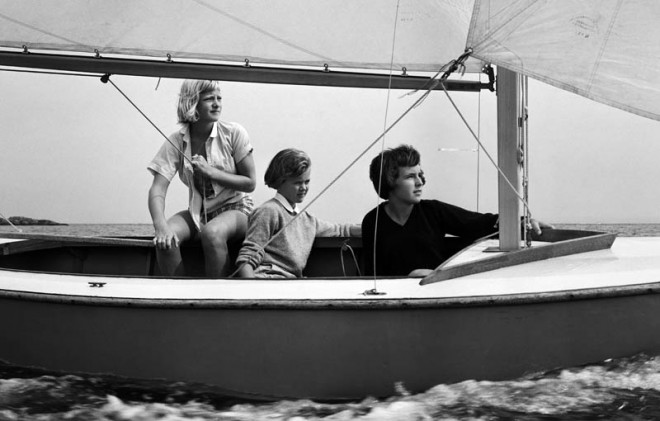 Juniors Sailing, 1956