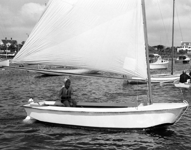 Girl in a Small Sloop, 1957