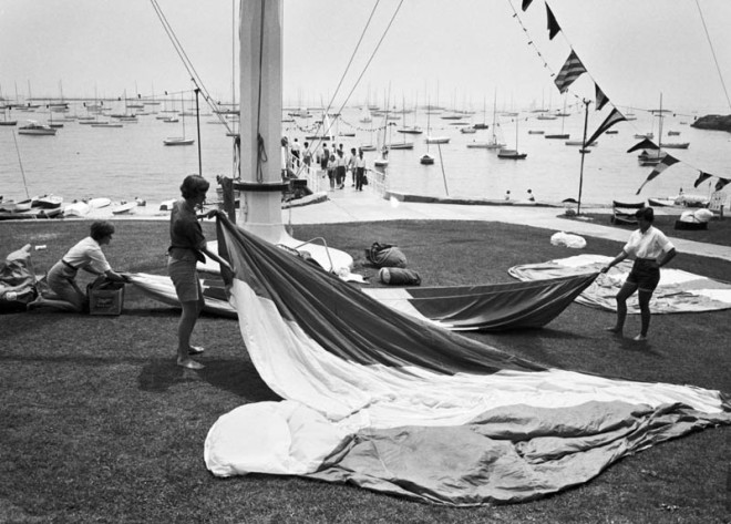 Drying Sails, 1961