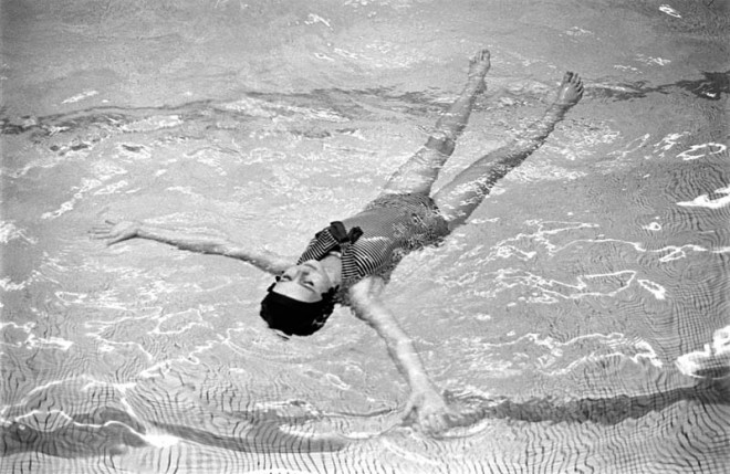 Floating Swimmer, 1963