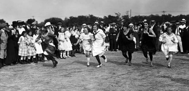 Foot Race at Rye, 1920