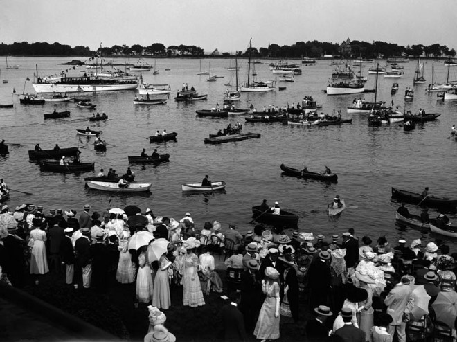Ladies Day at the Yacht Club, 1911