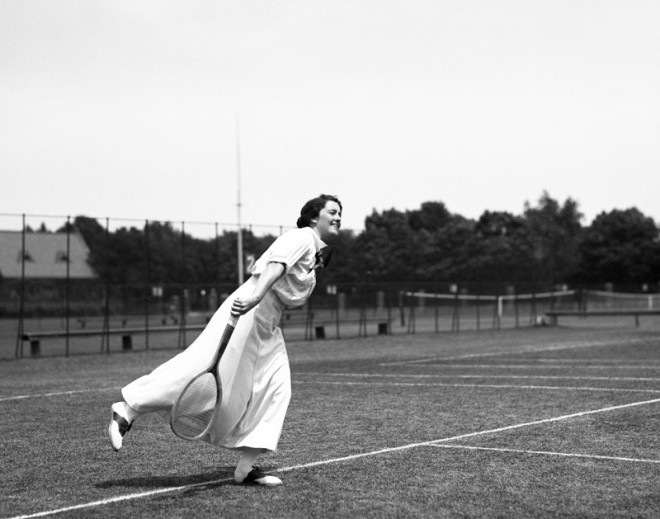 Ladies Tennis Champion: Mary Browne, 1917