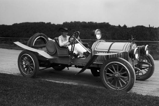 Woman at the Wheel, 1917