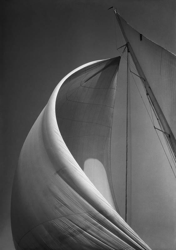 WEETAMOE'S Spinnaker, 1934