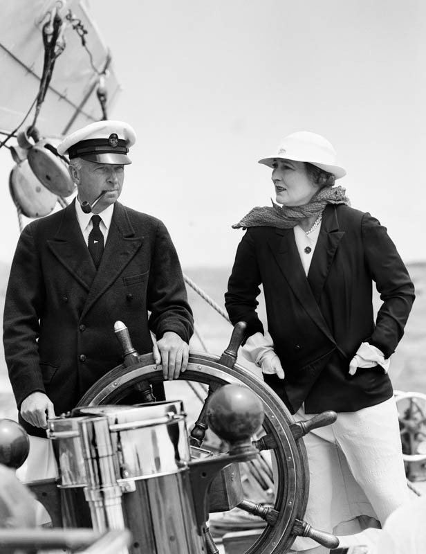 Tom and Phyllis Sopwith, 1937