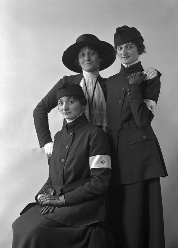 Telephone Operators in U.S. Uniform, 1917