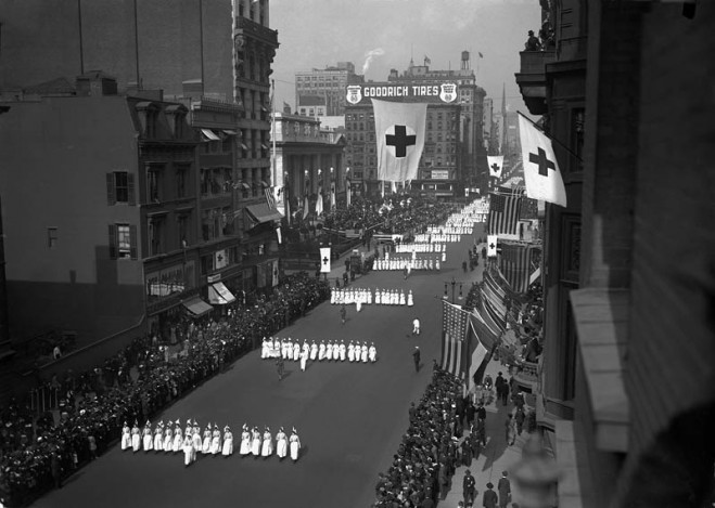 American Red Cross Parade, 1917