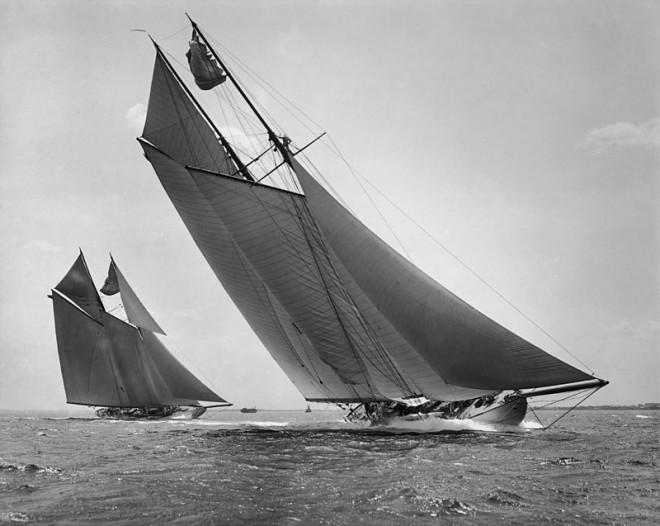 INGOMAR and ELMINA, ca. 1907