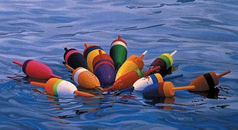 Buoys I by John Atwater