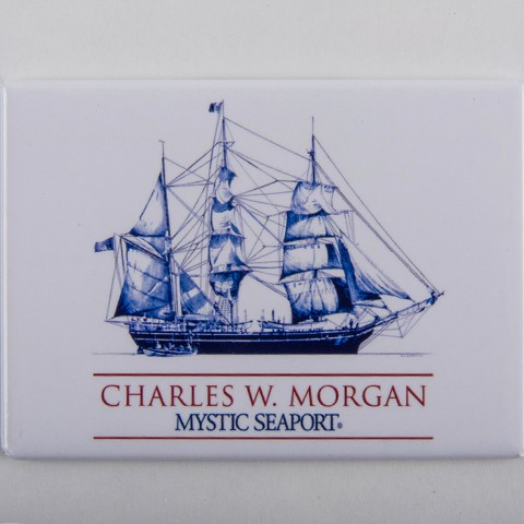 CHARLES W. MORGAN Magnet Rectangle