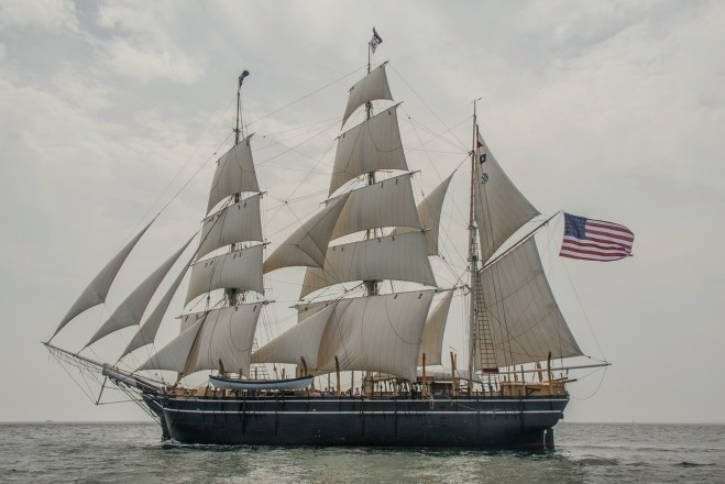 Day Sail off New London, August 2014