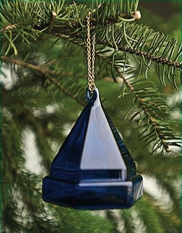 Deck Prism Ornament - Blue