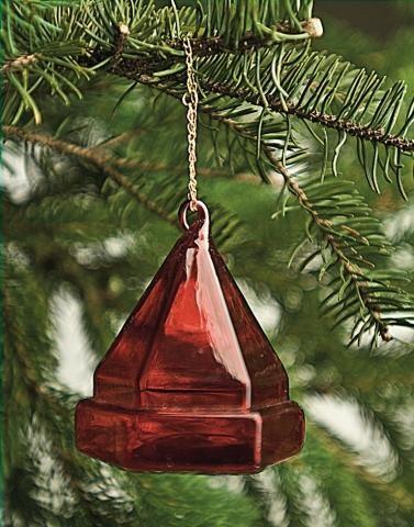 Deck Prism Ornament - Red