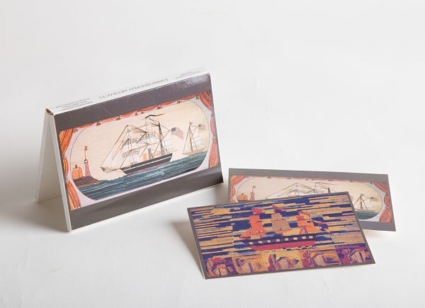 Embroidered Artifacts Notecards