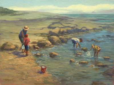 1039680 THE FRESHNESS OF SEASIDE s/n Giclee on Canvas