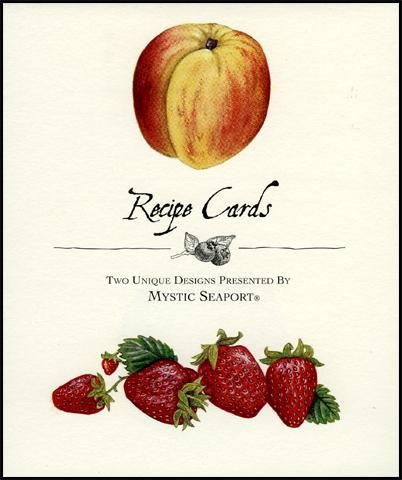 Fruit Recipe Cards