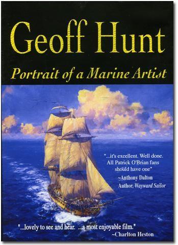 1034089 Geoff Hunt, Portrait of a Marine Artist - DVD
