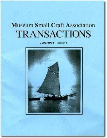 MUSEUM SMALL CRAFT ASSOCIATION Vol. I