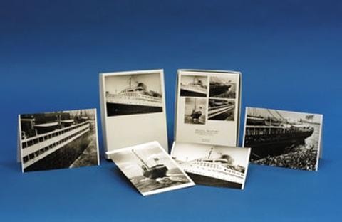 Ocean Liner Notecards: Rosenfeld Collection