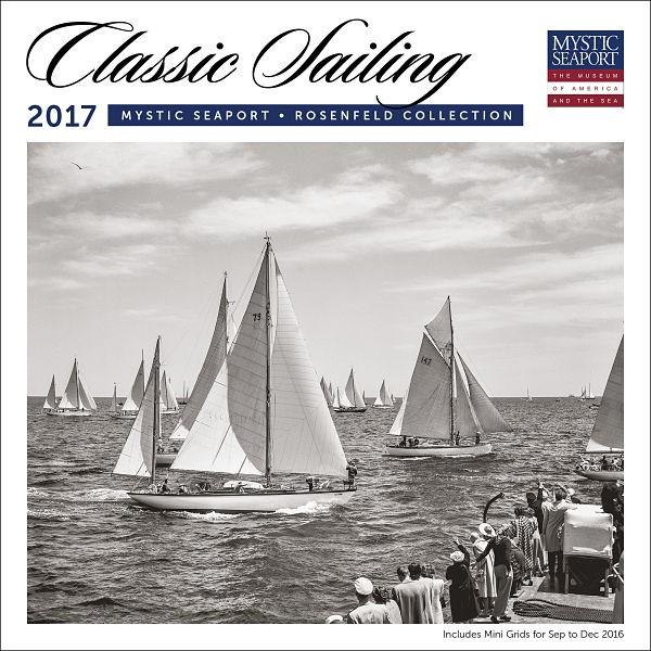 2017 Classic Sailing Wall Calendar