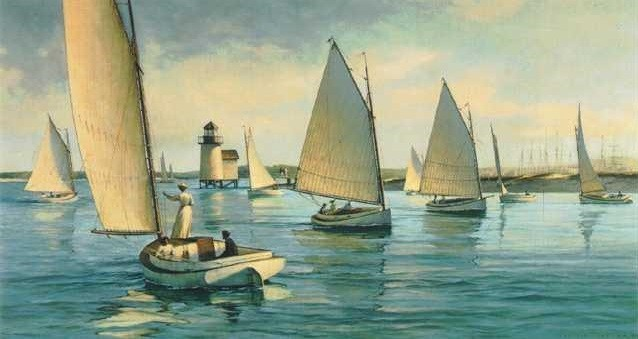 1007409 NANTUCKET AFTERNOON s/n Lithograph