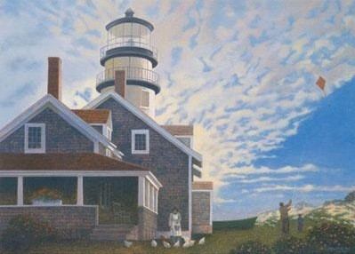 1007578 HIGHLAND LIGHT s/n Lithograph