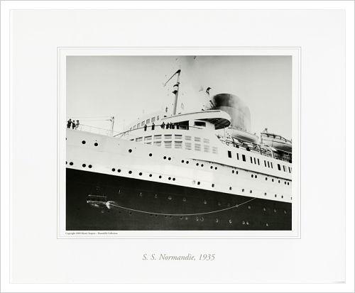 S.S. NORMANDIE, 1935