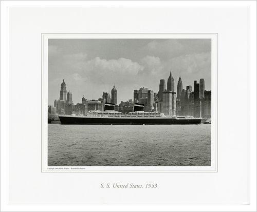 S.S. UNITED STATES, 1953