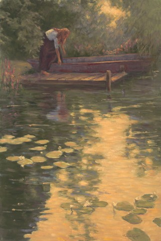 1039678 SUMMER DAWN s/n Giclee on Canvas
