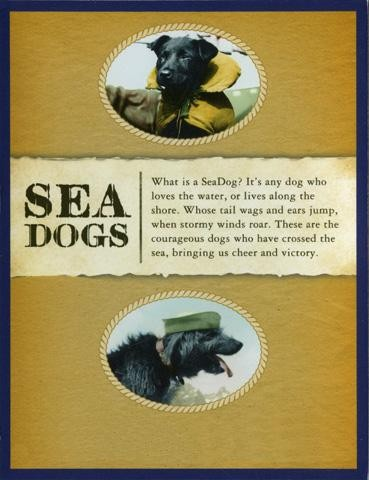 Sea Dog Playing Cards