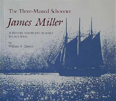THREE MASTED SCHOONER JAMES MILLER by W. Quincy
