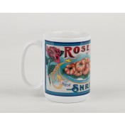 Seafood Label Mug - Shrimp