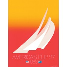 1988 AMERICA'S CUP RED