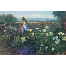 1040566 BLOSSOMS SCENT THE AIR s/n Giclee on Canvas